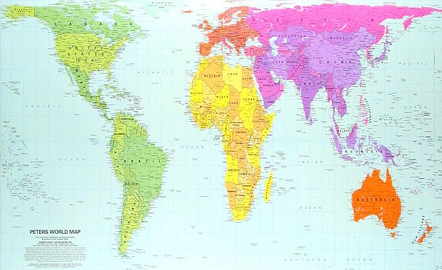 Maps  English and the world  What In English