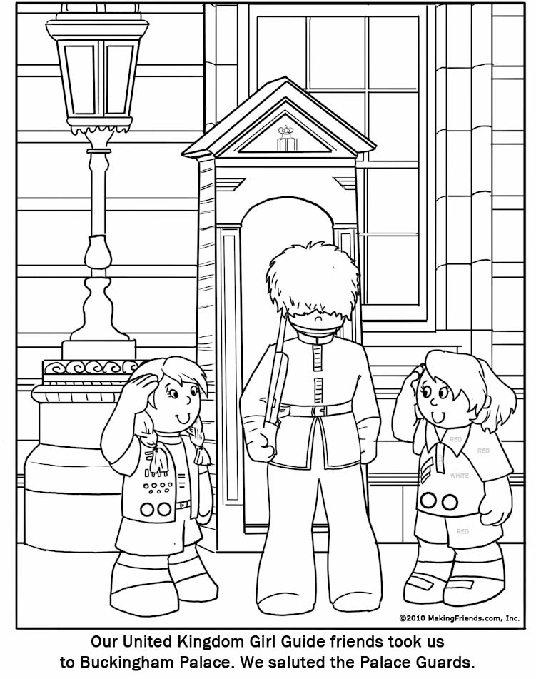 guard coloring pages - photo #15