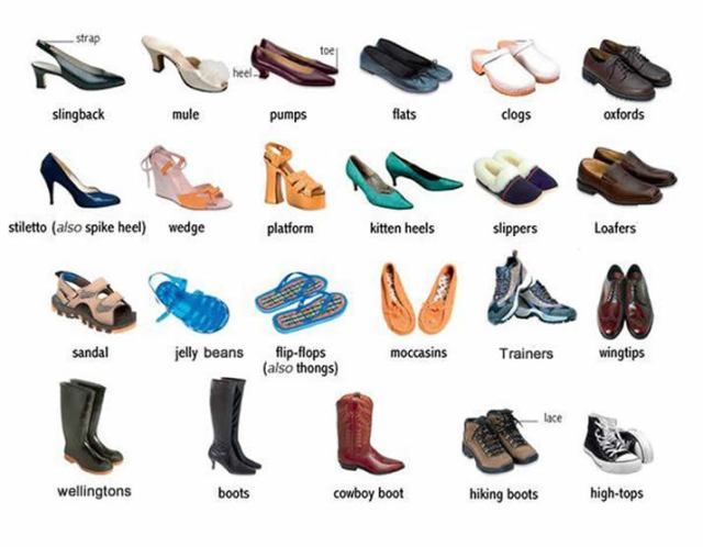 differentShoes