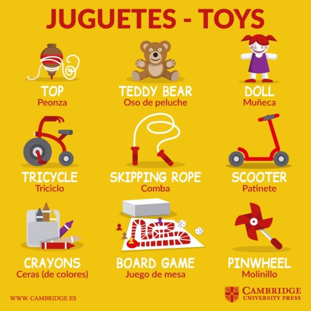 toys - juguetes-ingles